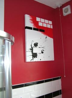 Tiles mounted