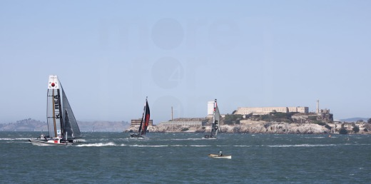 America's Cup, Alcatraz