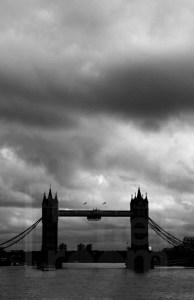 Cloudy portrait