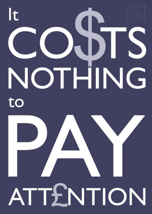 COSTS ATTENTION