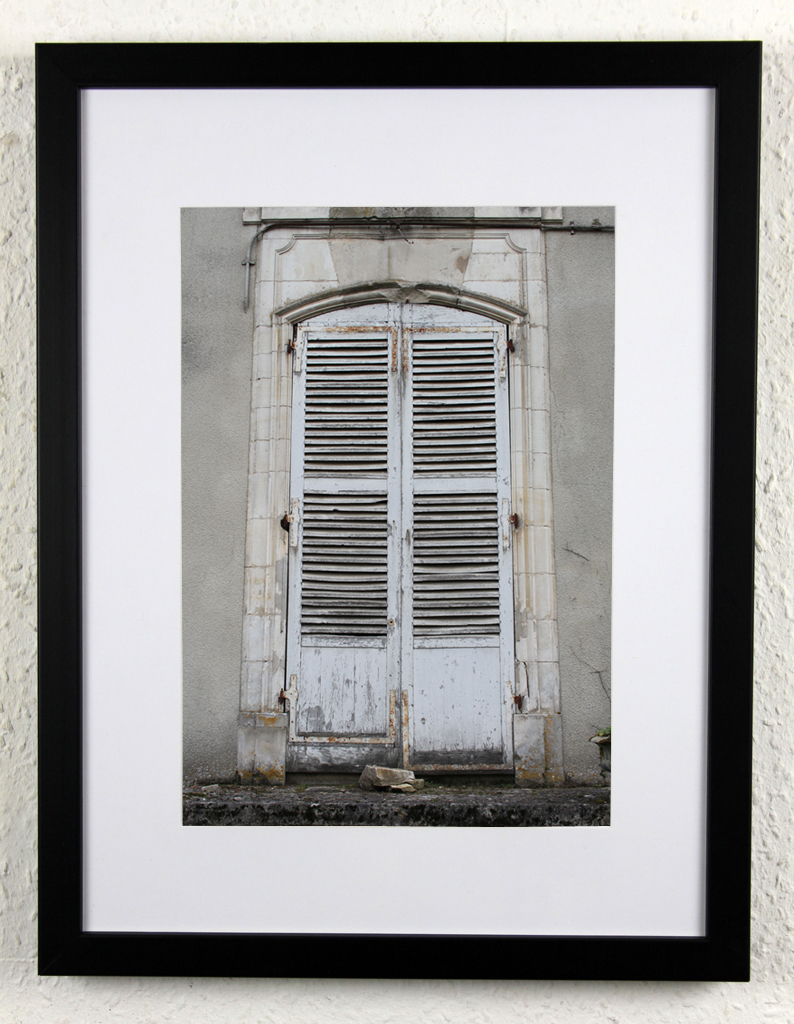 Chateau shutters